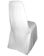 Tall Narrow Banquet Chaircover